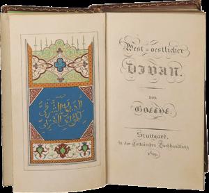 Goethe's New Divan